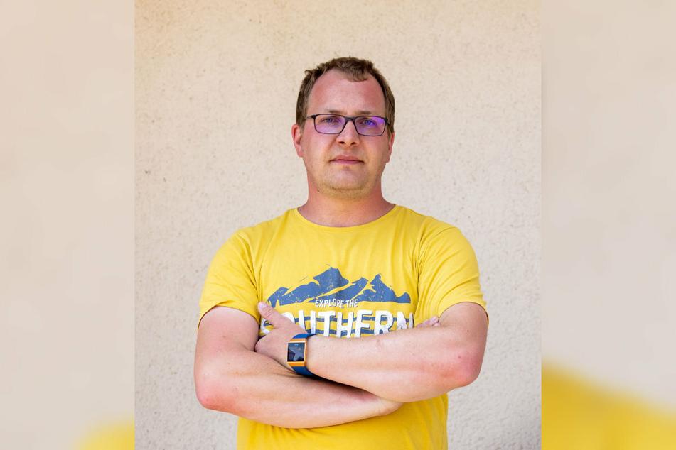 Kämpft um weitere Verbesserungen für Tanneberg: Anwohner Christoph Kürbis (33).