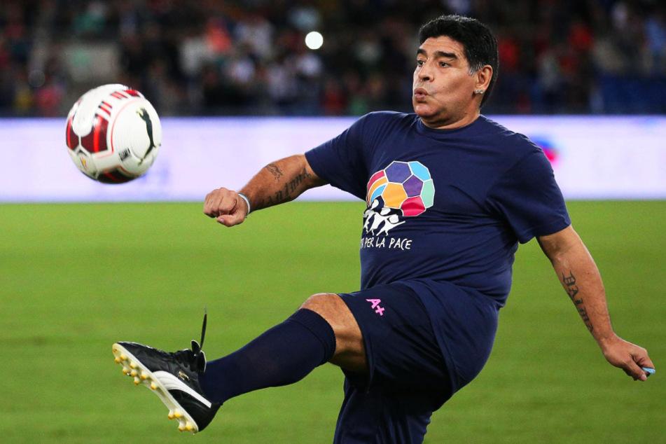 Fußball-Legende Diego Armando Maradona (60) war am 25. November an einem Herzinfarkt gestorben.