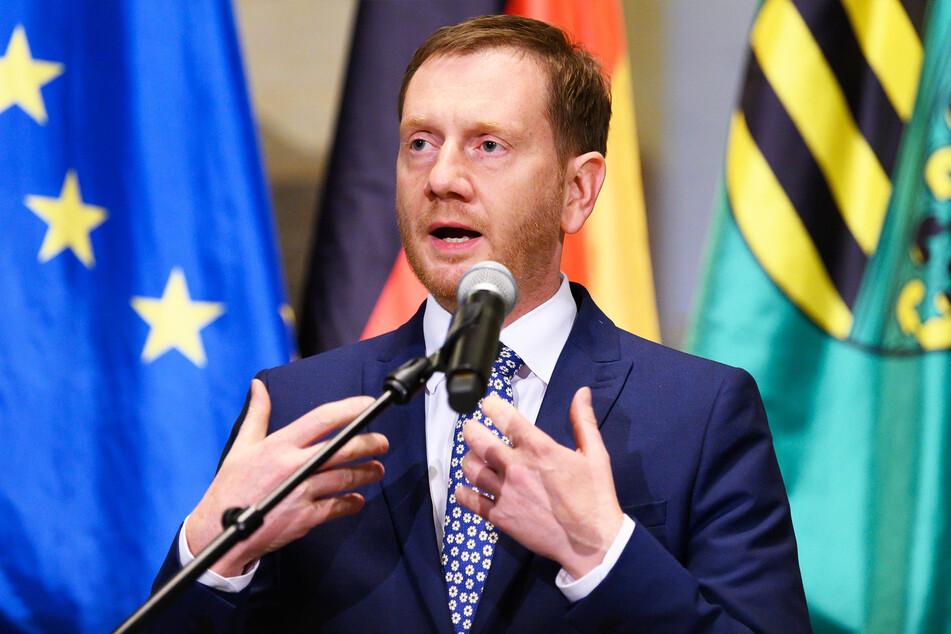 Michael Kretschmer (CDU, 45), Ministerpräsident von Sachsen.