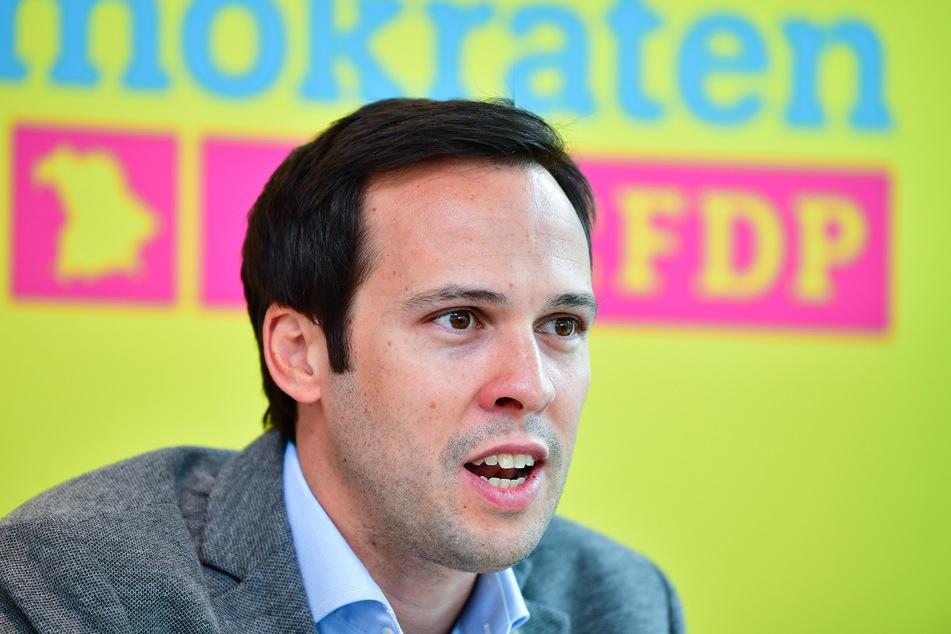 Martin Hagen, bayerischer FDP- Fraktionsvorsitzender.