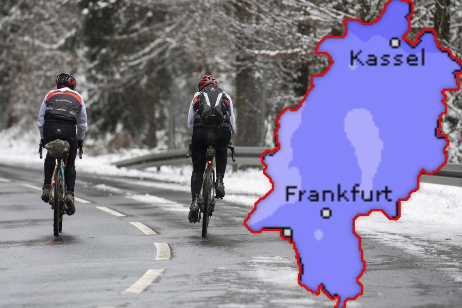 Wetter in Hessen: Erste Neujahrswoche wird kalt und weiß