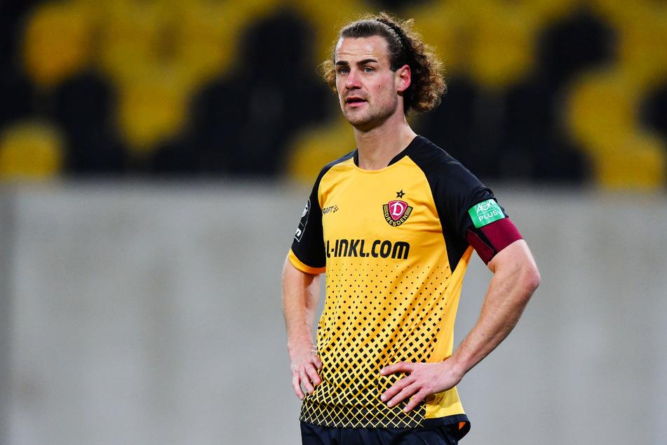 Yannick Stark (30) hat sich im Abschlusstraining an der Schulter verletzt. Nun droht dem zentralen Mittelfeldspieler von Dynamo Dresden ein langfristiger Ausfall.
