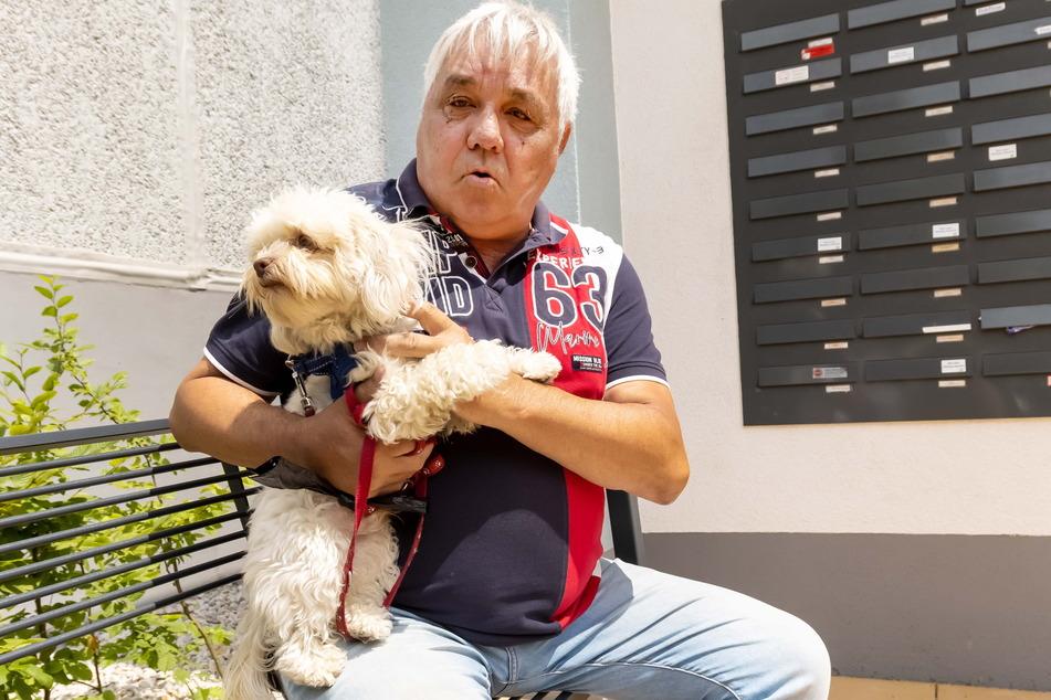 Gerd Wieczorek (65) hat keine guten Erinnerungen an seine früheren Nachbarn.