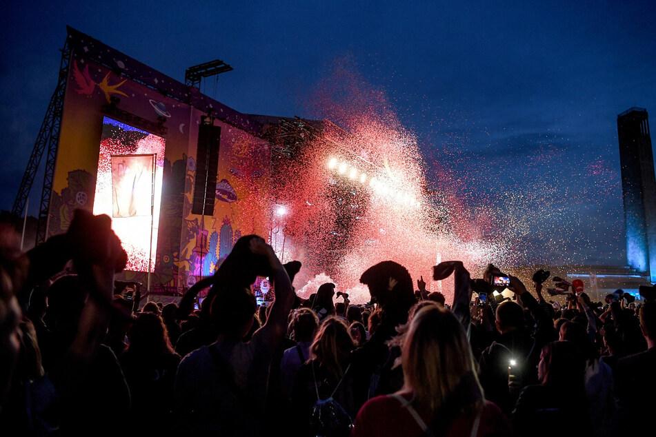 Bei der jüngsten Lollapalooza-Ausgabe vor zwei Jahren waren für die beiden Tage im Berliner Olympiastadion rund 85.000 Eintrittskarten verkauft worden. (Archivbild)