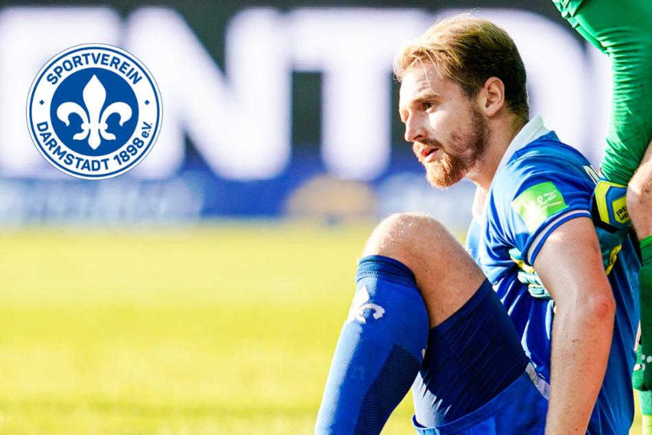 SV Darmstadt 98: Innenverteidiger Höhn erleidet Knöchelbruch