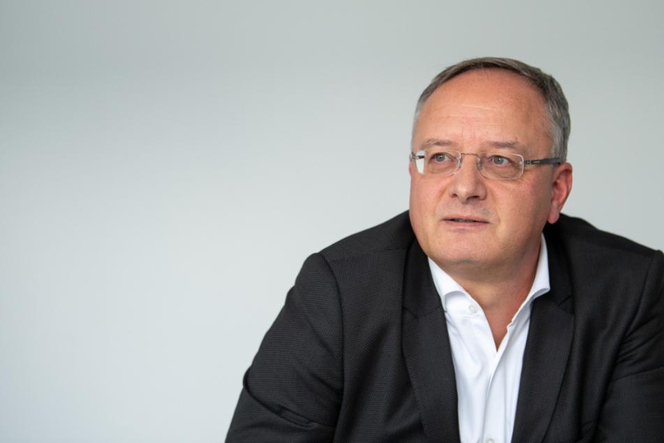 Partei- und Fraktionschef der SPD Andreas Stoch.