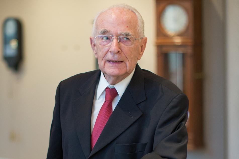 Uhren-Pionier Walter Lange (†92) im Jahr 2015.
