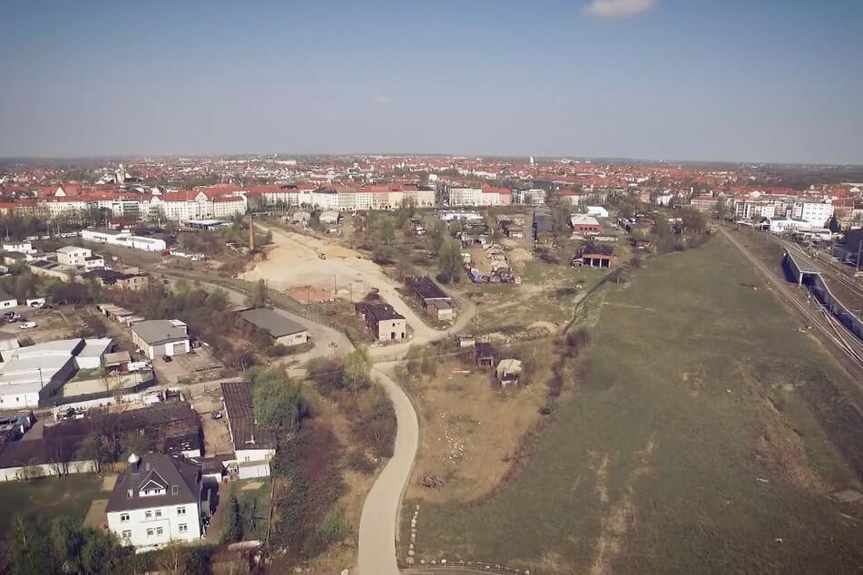 Auf dem Gelände des Eutritzscher Freiladebahnhofs soll bald ein neues Quartier entstehen.