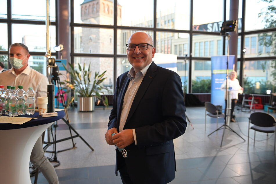 Wahlsieger Sven Schulze (48, SPD) ist positiv überrascht.