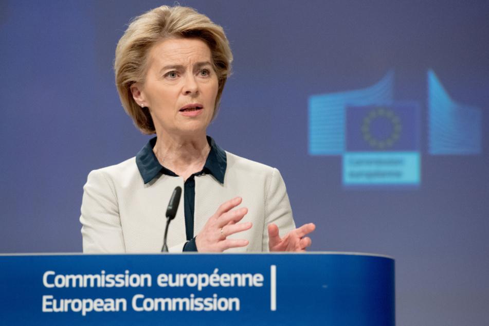 EU-Kommissionspräsidentin Ursula von der Leyen (61).