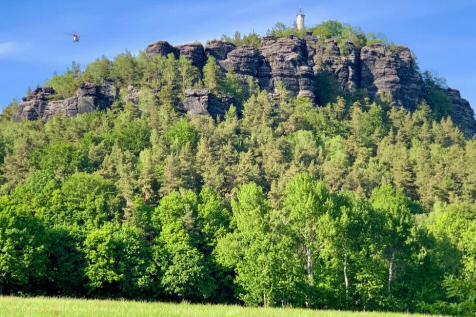 Kletterer stürzen in die Tiefe: Bergwacht hat alle Hände voll zu tun