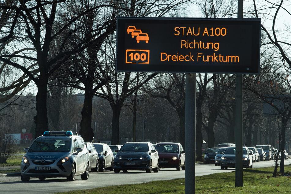 Auf diesen Berliner Straßen gibt es die heftigsten Staus Deutschlands!