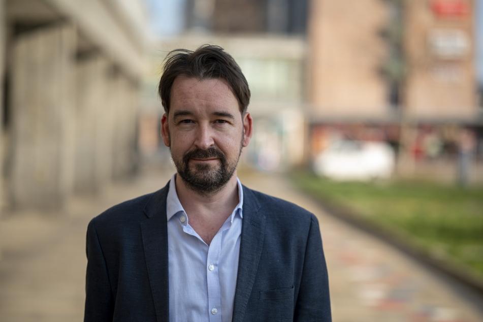 """Christian Rost (46) ist Projektleiter der Initiative """"Kreatives Sachsen""""."""
