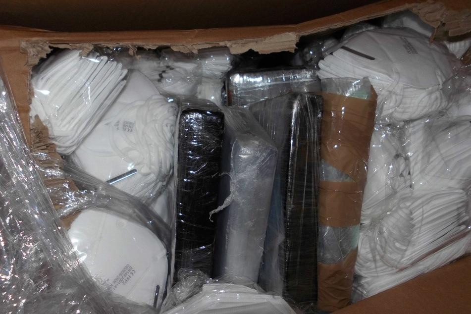 Kokain in Schutzmasken-Transport gefunden