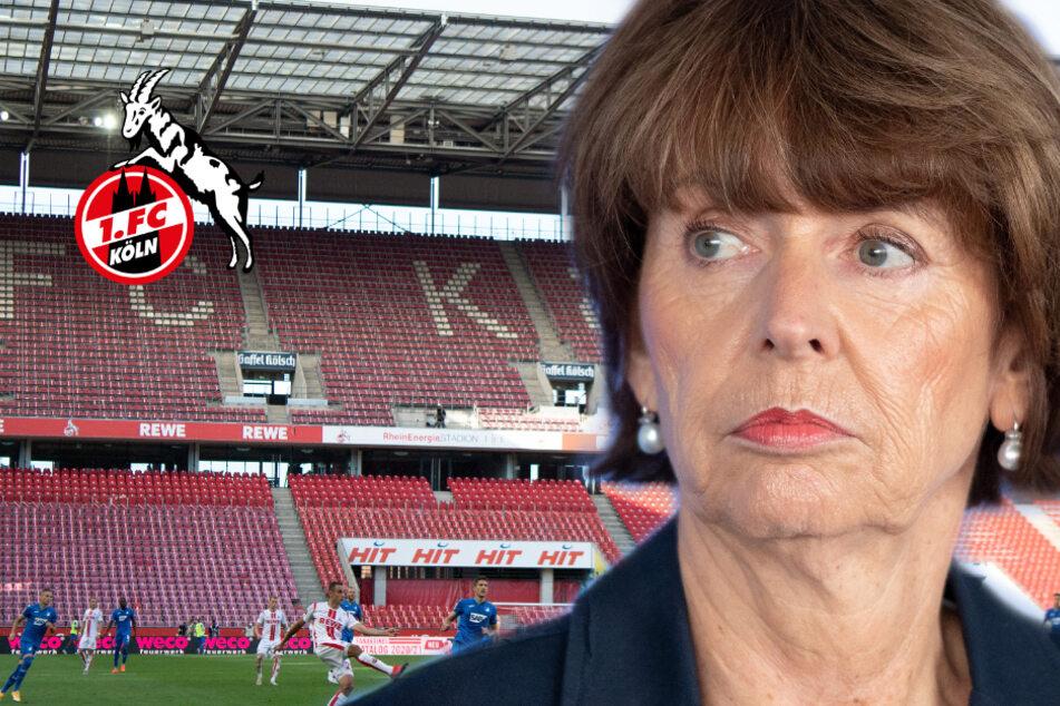 """Corona-Anstieg: Kölns OB Henriette Reker """"wäre auch gerne im Stadion gewesen"""""""