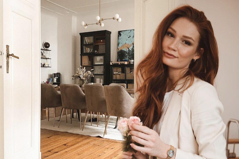 Jana Heinisch zeigt ihr Esszimmer: Mit diesen Reaktionen hat sie nicht gerechnet