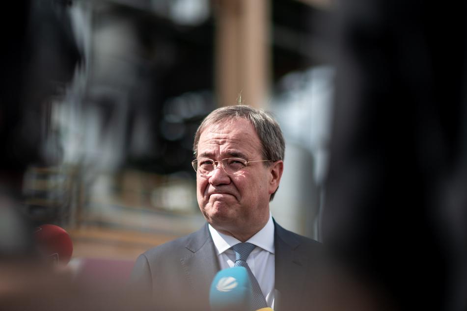 NRW-Ministerpräsident und CDU-Kanzlerkandidat Armin Laschet (60).