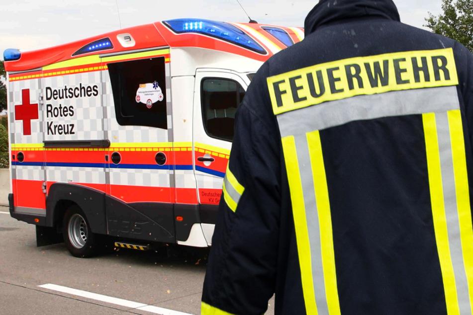 Frau nach Unfall bei Bebra in brennendem Auto gefangen: So wurde sie gerettet
