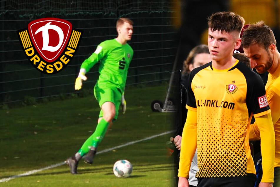 Dynamo: Großer erfolgreich operiert, U19-Keeper Maul zu Profis hochgezogen!