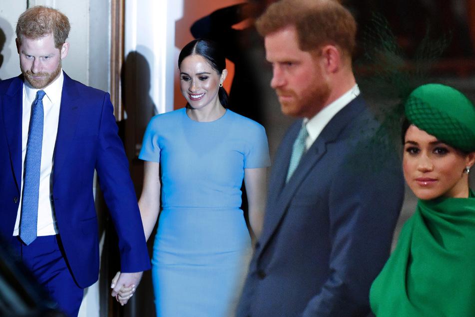 Als hätte die Queen jetzt keine anderen Sorgen: Meghan und Harry mit krasser Entscheidung