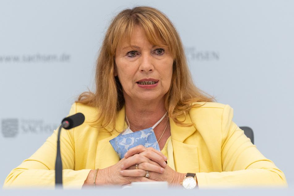 Gesundheitsministerin Petra Köpping (SPD).