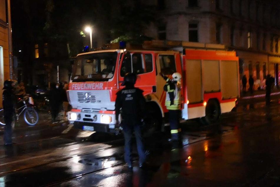 Die alarmierte Feuerwehr löschte den Brand.