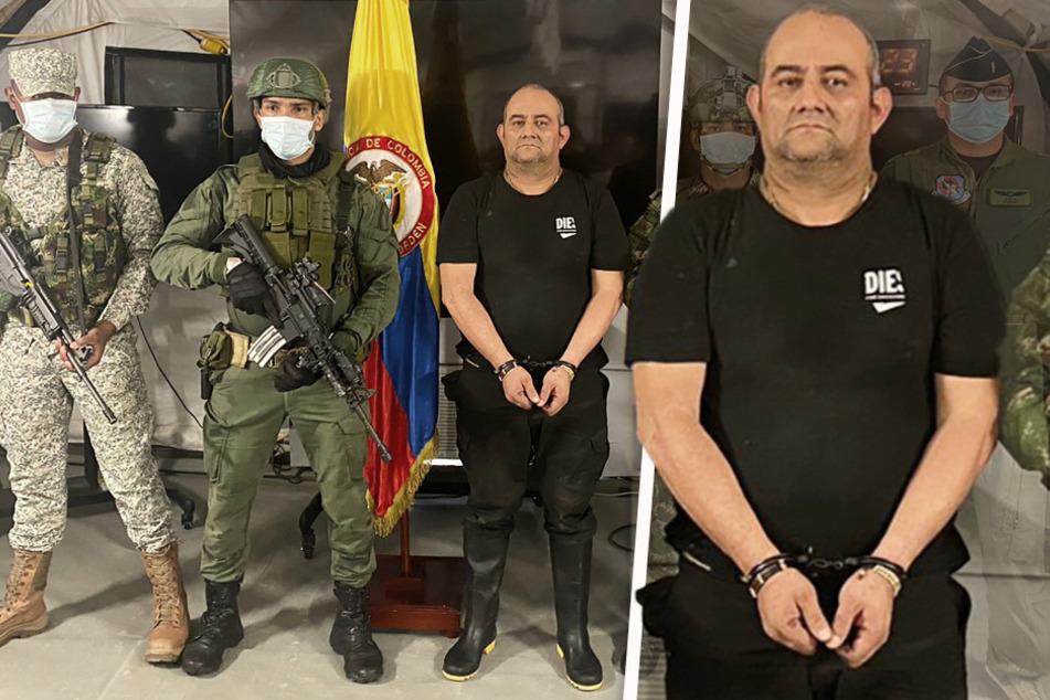 "Kolumbien feiert filmreife Festnahme von Drogenboss: ""Otoniel"" im Dschungel verhaftet!"