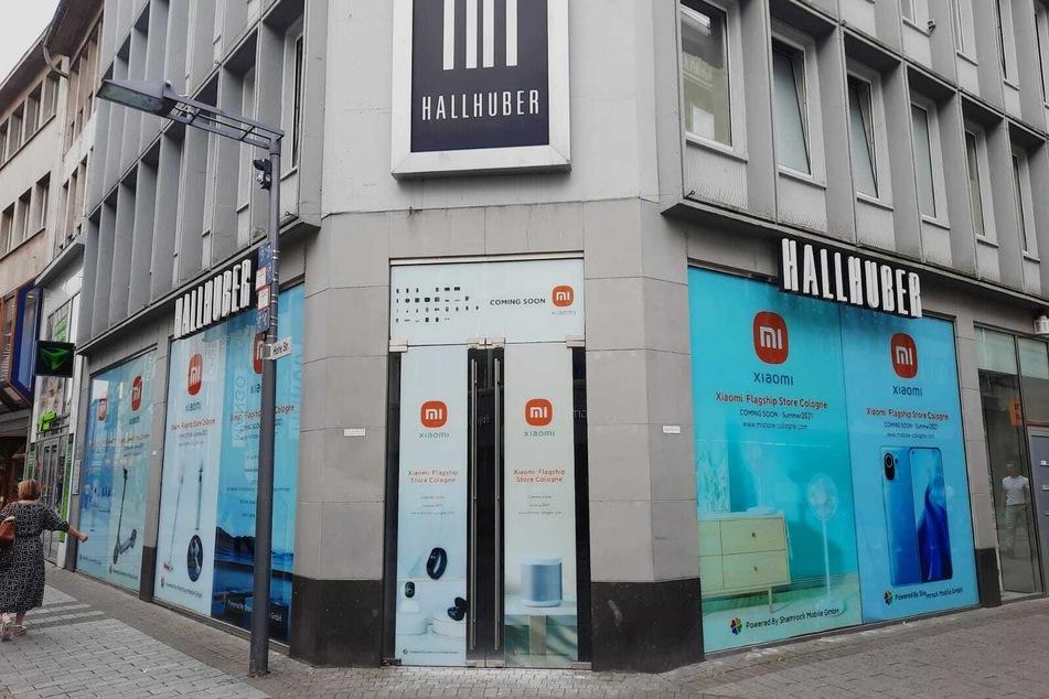 Xiaomi, der Technik-Riese aus China eröffnet einen Flagshipstore auf der Hohe Straße in Köln.