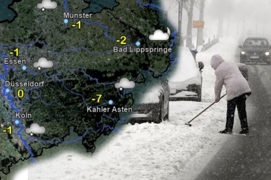 Jetzt aber richtig: Der Schnee kommt nach NRW!