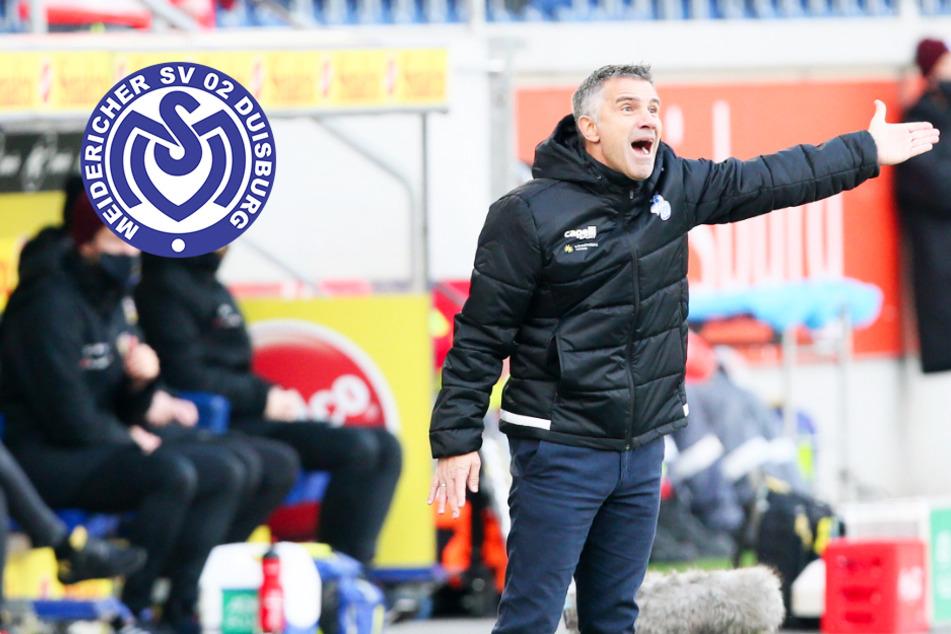 """MSV Duisburg nach Pleite gegen Dynamo tief in der Krise! Coach Lettieri """"sauer"""""""