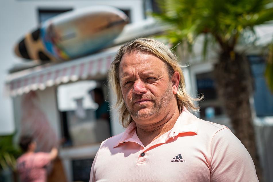 Andreas Gottwald (45) hofft, dass seine Hundedame Lucy überlebt.