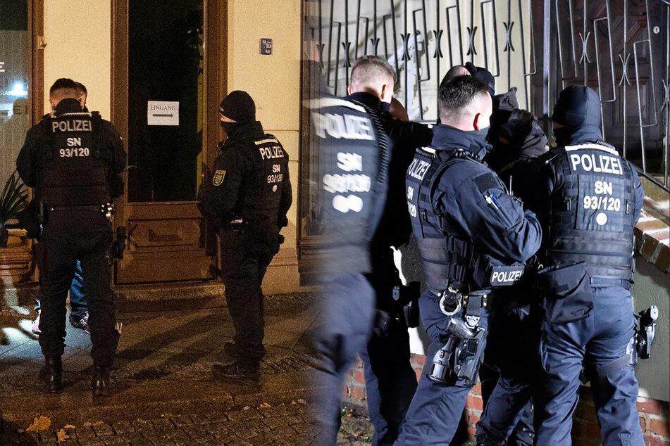 Einem Mann (40) mussten nach einer Attacke die Handschellen angelegt werden.