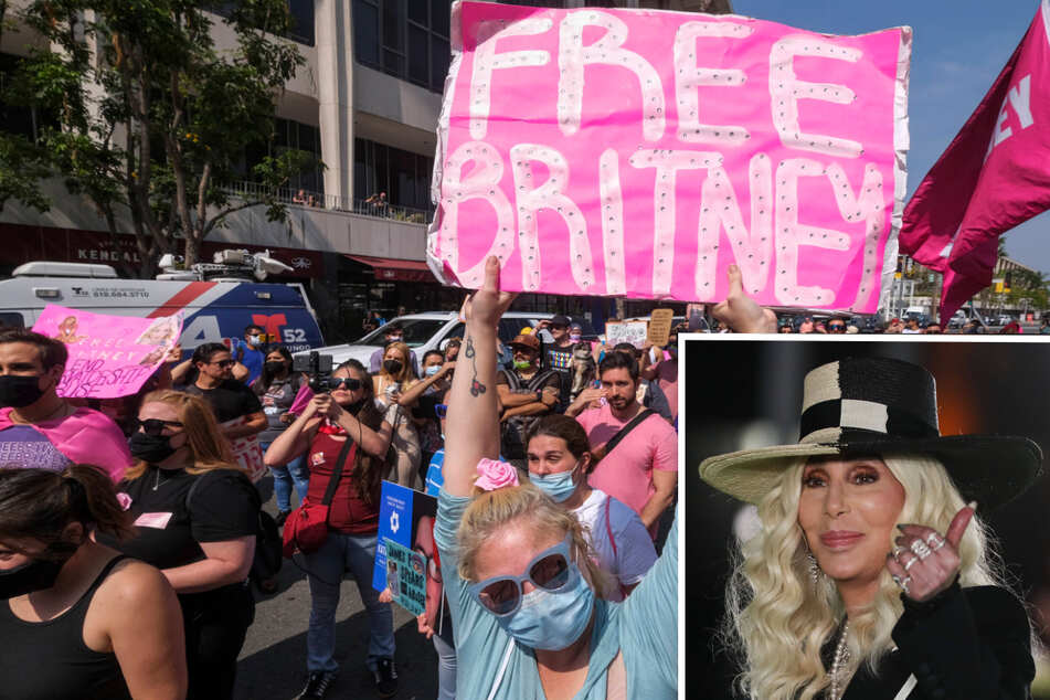 Celebs cheer Britney Spears' freedom from father in conservatorship ruling