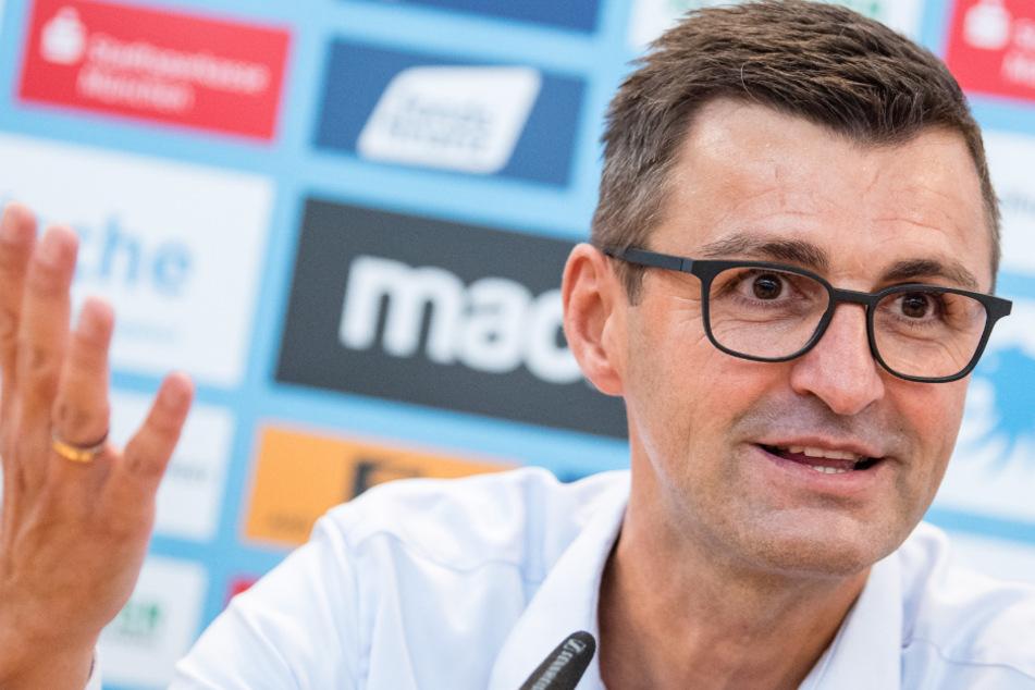 Trainer Michael Köllner (50) und seine Spieler vom TSV 1860 München haben im Toto-Pokal noch alle Chancen auf den Triumph.