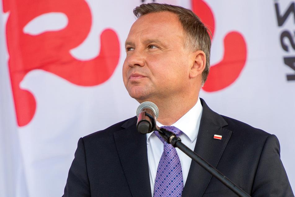 Andrzej Duda (49), Präsident von Polen.