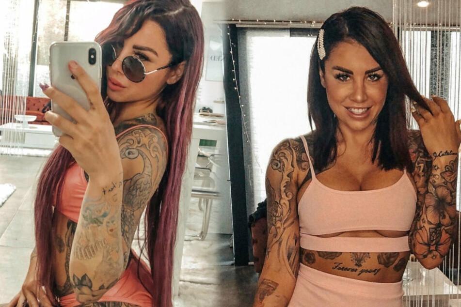 Model lässt sich Instagram-Filter ins Gesicht tätowieren