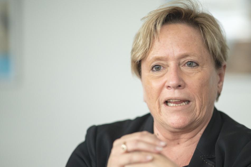 Spitzenkandidatin der CDU Susanne Eisenmann (56).