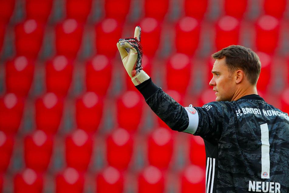 Manuel Neuer (34) hat beim FC Bayern München bis 2023 verlängert.