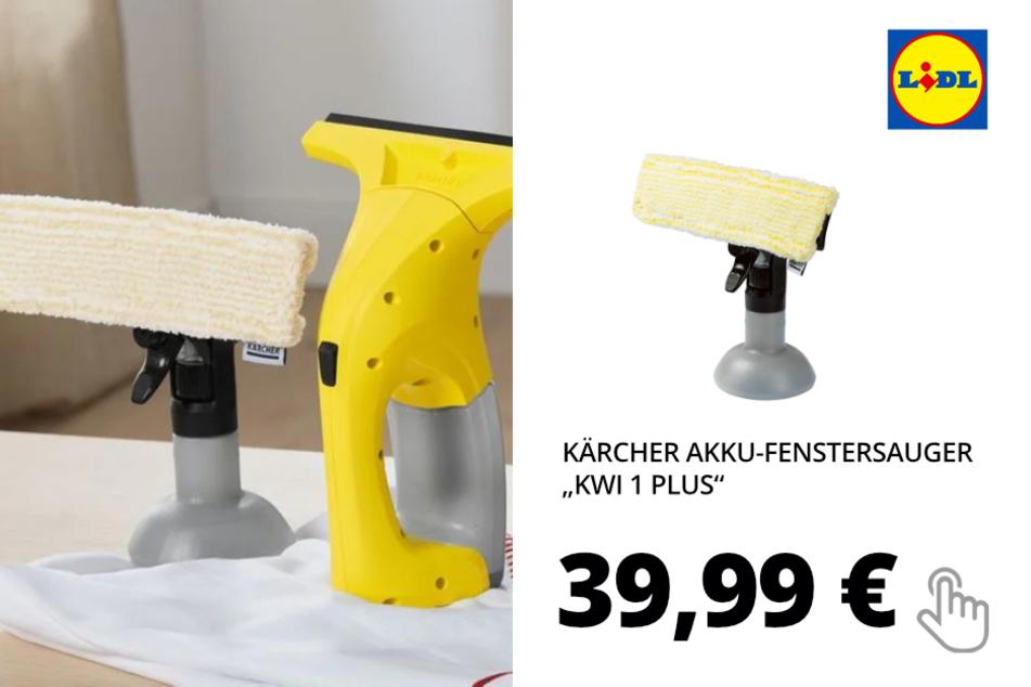 Akku-Fenstersauger