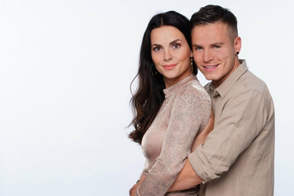 Der Reality-TV-Star Denise Kappés (30) und der Sänger Henning Merten (32).