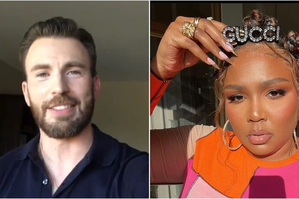 Lizzo wants to snag Chris Evans for The Bodyguard remake!