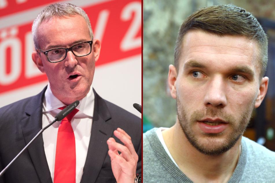 FC-Geschäftsführer Alexander Wehrle (46) hat bestätigt, dass er mit Lukas Podolski (36) im Austausch steht.
