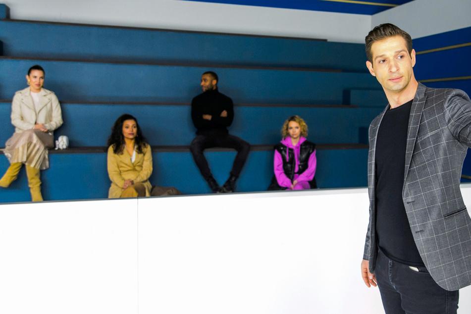 Aktuell ist Igor Dolgatschew als Cheftrainer des Eislauf-Kaders im Steinkamp-Zentrum zu sehen, hat die Läuferinnen Chiara (Alexandra Fonsatti, 28, l.) und Greta (Barbara Prakopenka, 28, 2.v.r.) zu sehen.