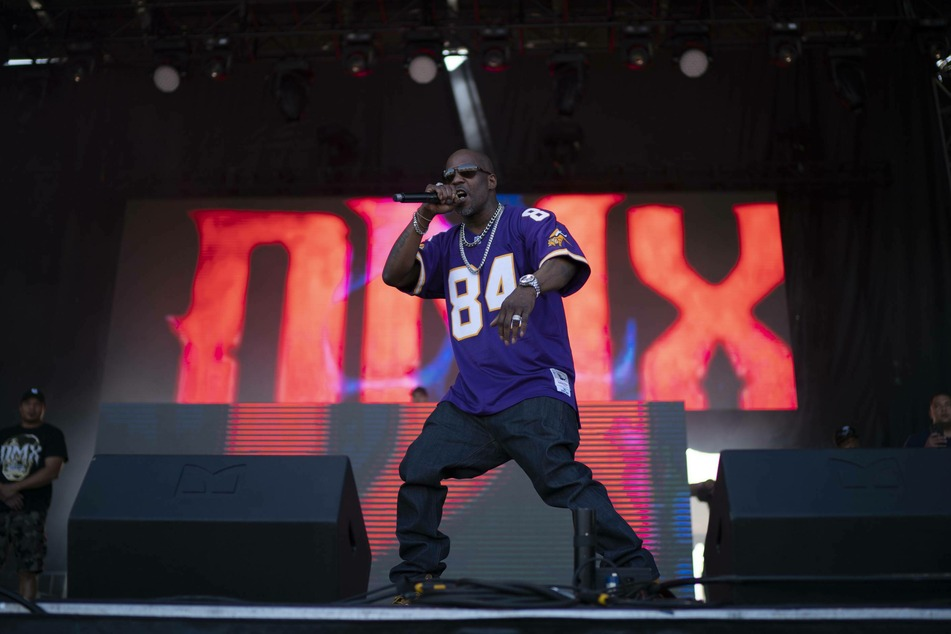 DMX had an infamous stage presence that commanded attention.