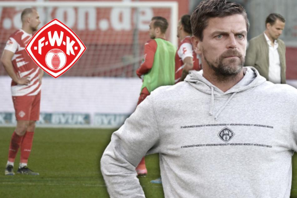 Würzburg-Beben nach massivem Fehlstart: Kickers schmeißen Torsten Ziegner raus!