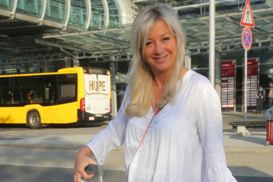 Beatrix Reuschel (50) pendelt beruflich alle zwei Wochen zwischen Malle und Dresden.