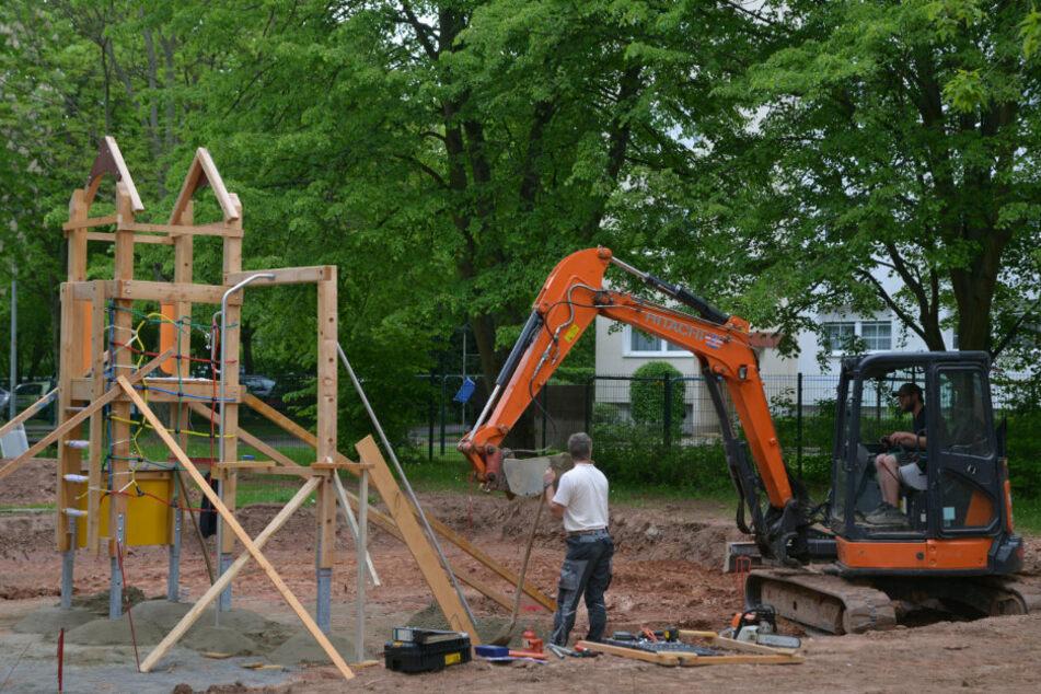 Spielplatz in Chemnitz-Kappel wird jetzt aufgemöbelt
