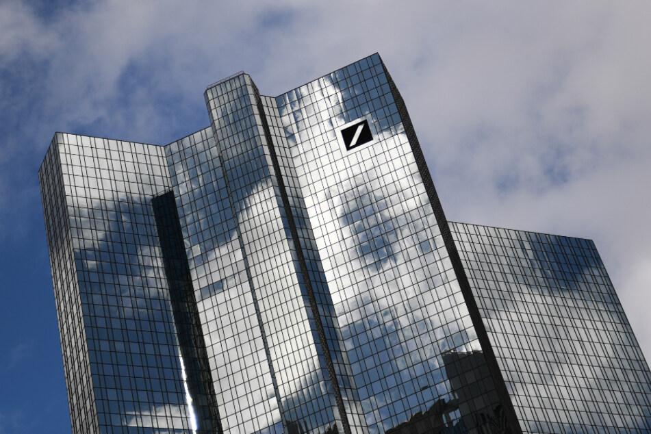 Die Zentrale der Deutschen Bank im Frankfurter Bankenviertel.