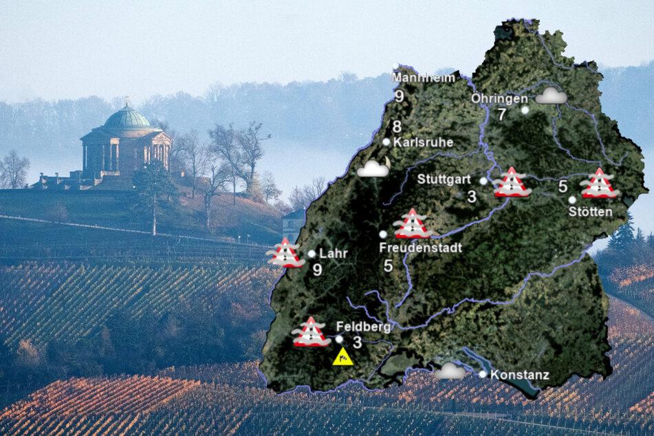 Wetter in Baden-Württemberg: Es wird mild, aber...