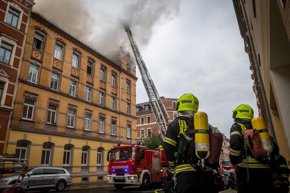 Nach verheerendem Dachstuhlbrand in Chemnitz: Identität der Leiche geklärt